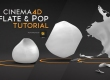 Cinema4D inflate and explode tutorial