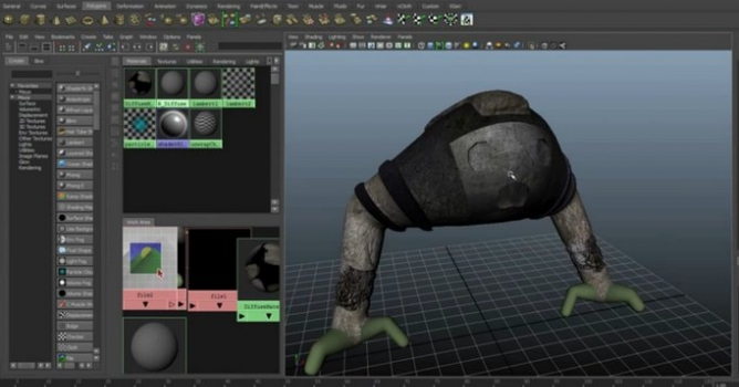 From ZBrush to Maya - Evermotion