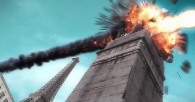 Tower destruction in Maya and 3ds Max - Evermotion