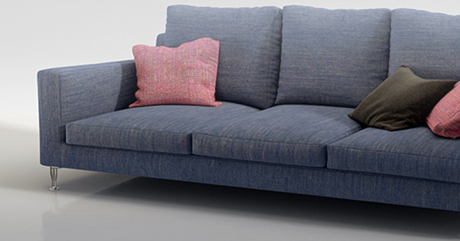 Create A Couch Using Cloth Simulation Evermotion