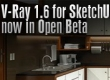 V-Ray 1.6 for Sketchup now in Open Beta