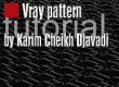 V-ray pattern tutorial