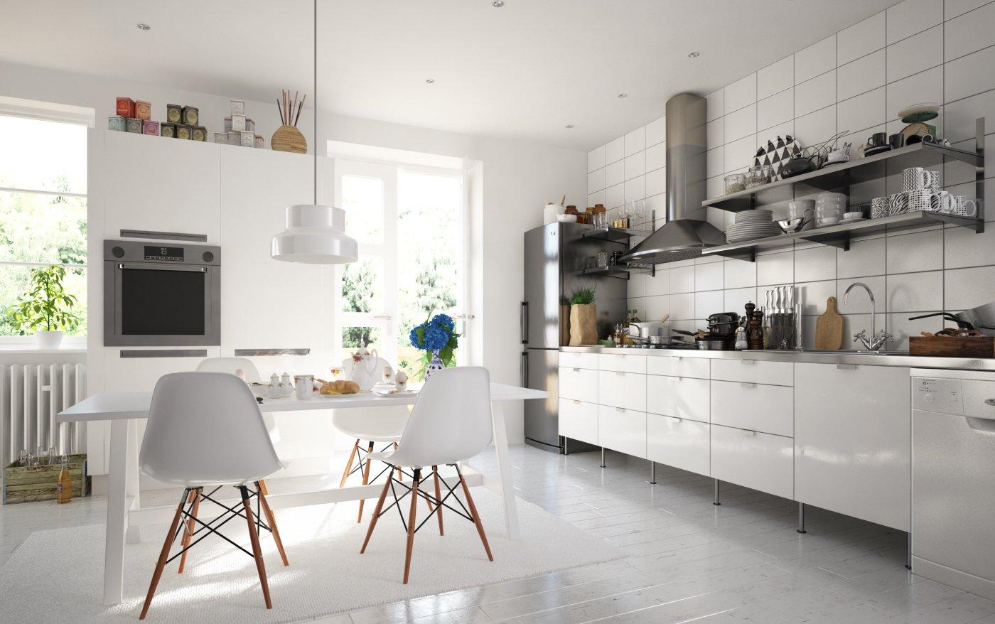 Making Of Swedish Kitchen Evermotion