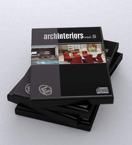 [素材] Archinteriors Vol. 5 3D素材