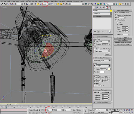 3dsmax: IES light in Vray - Evermotion