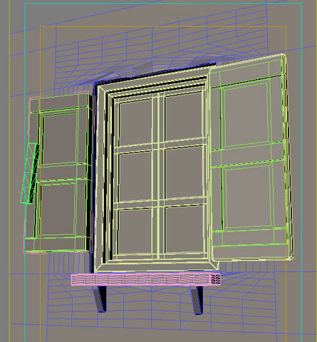 Dsmax How To Make Glass Window