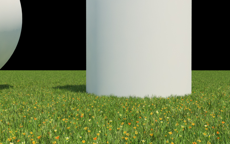 Grass With 3ds Max And V Ray For Flat Grounds Evermotion