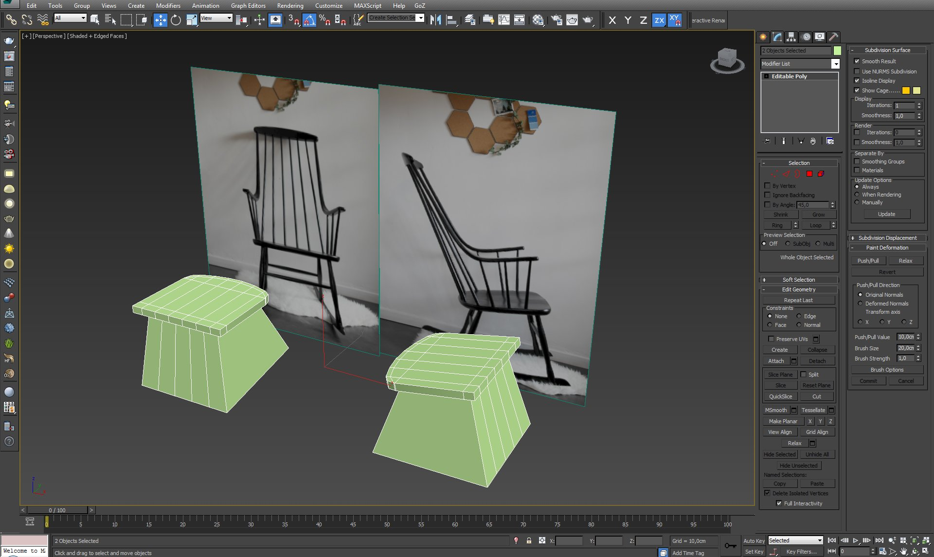 Modeling Grandessa Rocking Chair - Tip of the Week - Evermotion