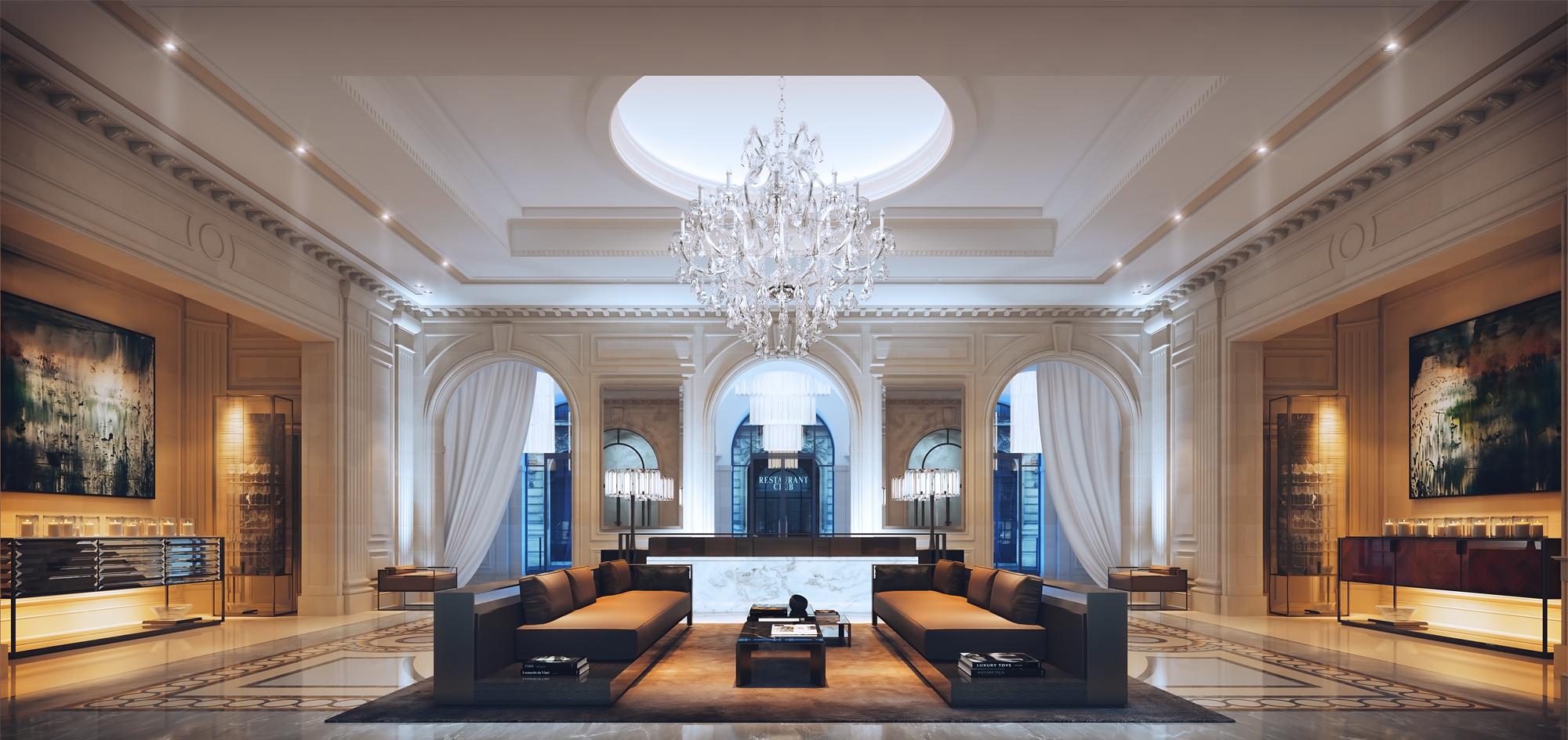 Making Of Four Seasons Hotel Lobby