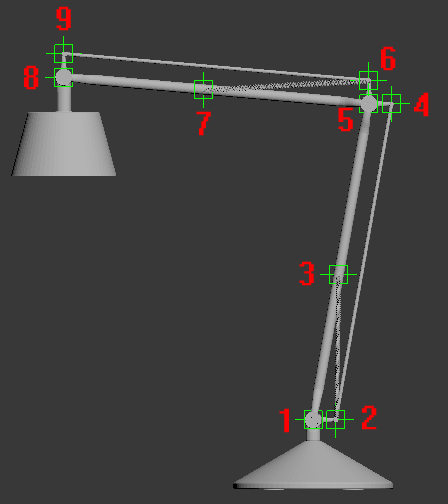 Rigging a lamp in 3ds max tip of the week evermotion.
