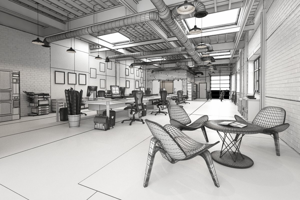 loft office. Click On Image To Enlarge 2_AI33_008_wire_nr_2190.jpg Loft Office