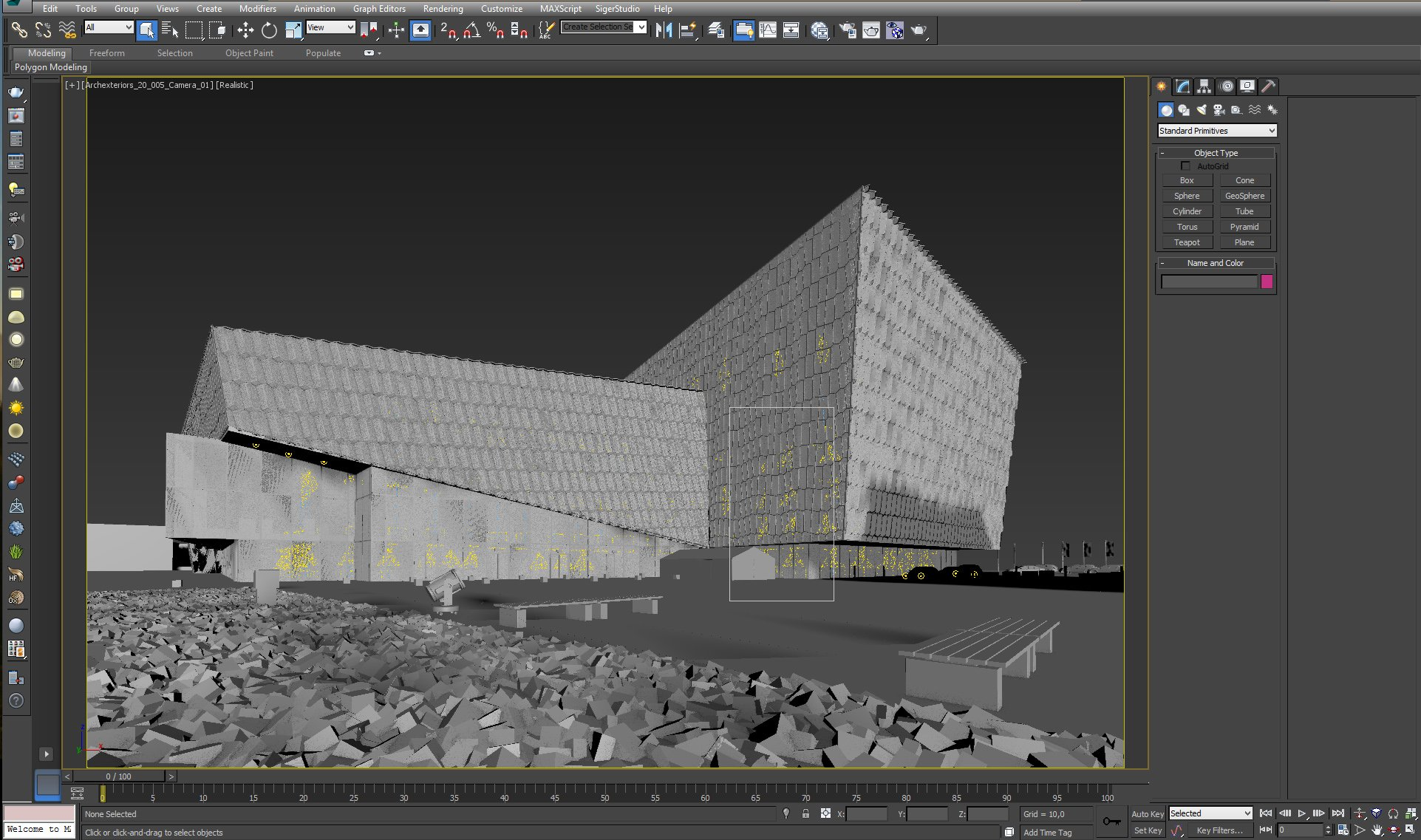 Making of Evening Exterior Scene - Evermotion