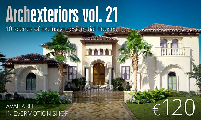 Making Of Summer Villa From Archexteriors Vol 21 Evermotion