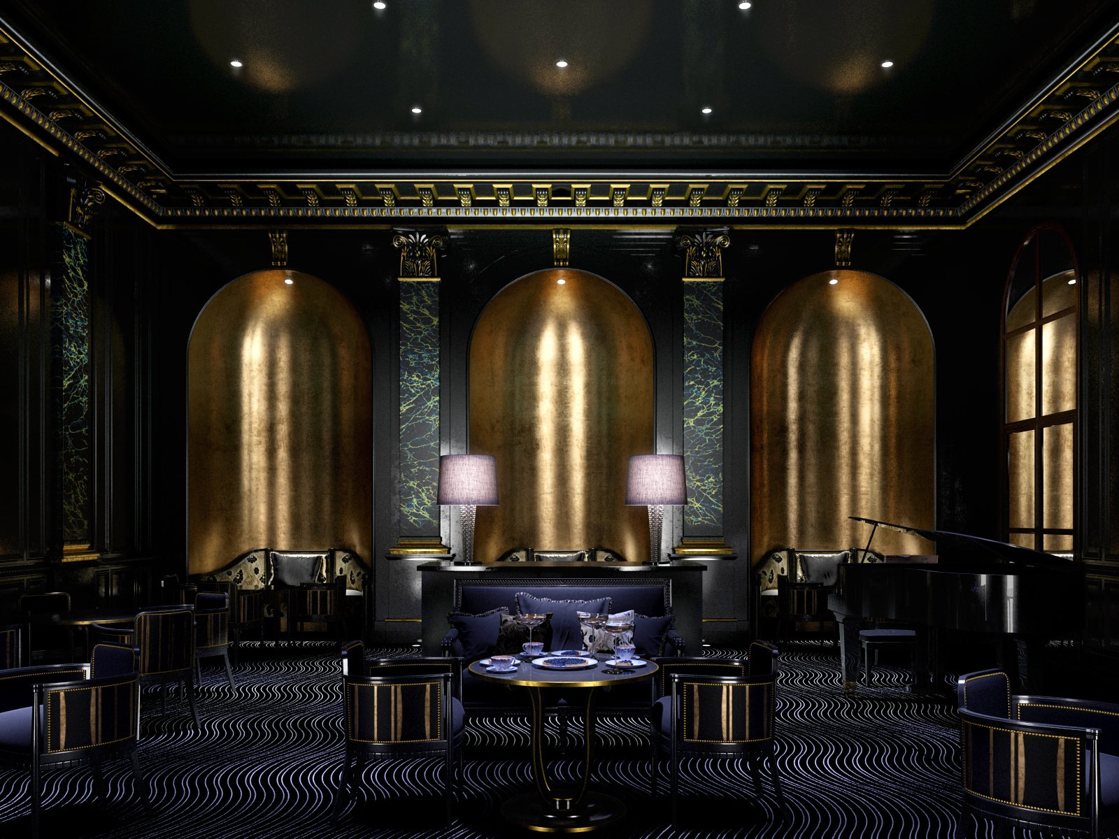 Pierre Yves Rochon Pyr Shortlisted Hotel 50 200 Rooms Award moreover Art Deco Room Design likewise Art Deco House also 1930s Auto Design Art Deco And Streamline Moderne additionally Acne Studios Store By Bozarthfornell Architects Los Angeles California. on 1930s art deco interior design
