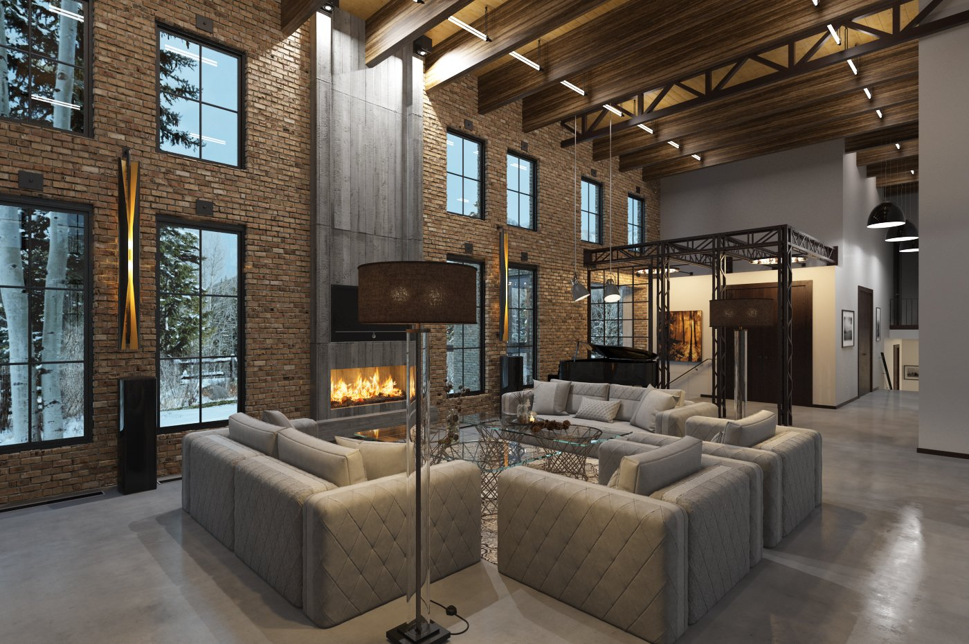 Industrial loft interior - Tip of the Week - Evermotion