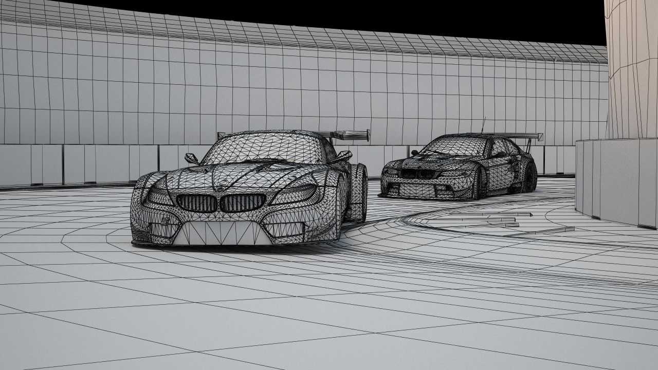 Making Of Gt3 Race Scene In 3ds Max And V Ray Evermotion