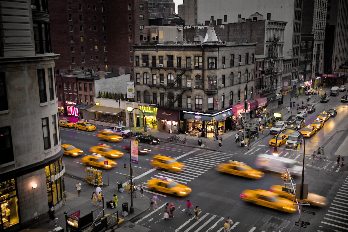 making of city life new york intersection evermotion. Black Bedroom Furniture Sets. Home Design Ideas