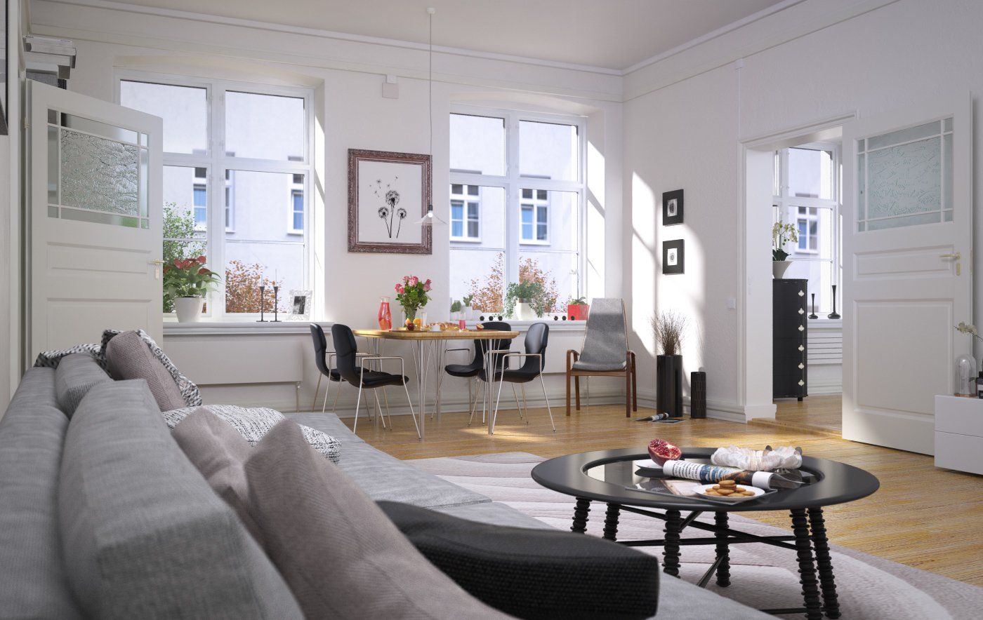 Making of scandinavian living room tip of the week for Architecte interieur 3d gratuit