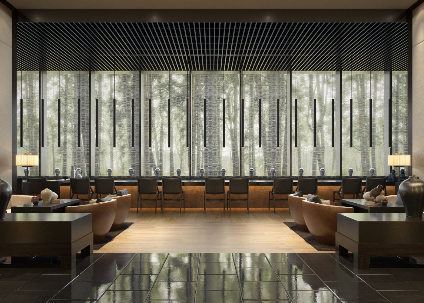 Making of a lobby bar tip of the week evermotion for Design hotel kuba