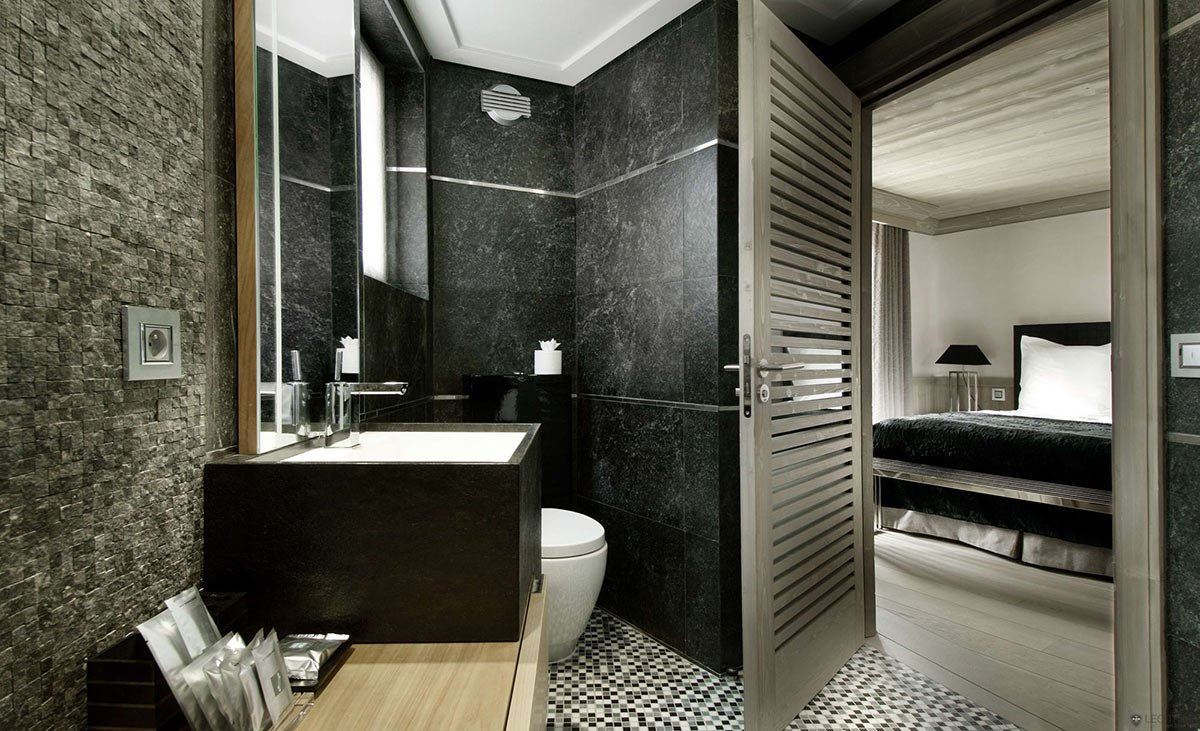 Making of small luxury bathroom tip of the week evermotion Interior design black bathroom
