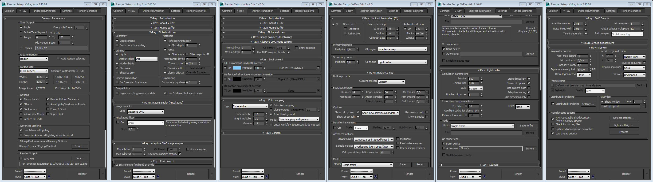 3ds Max: Working with big scenes - Evermotion