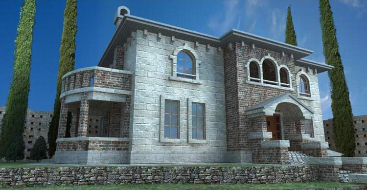 3dsmax texturing tutorial house texturing graphics artists for Classic house tutorial