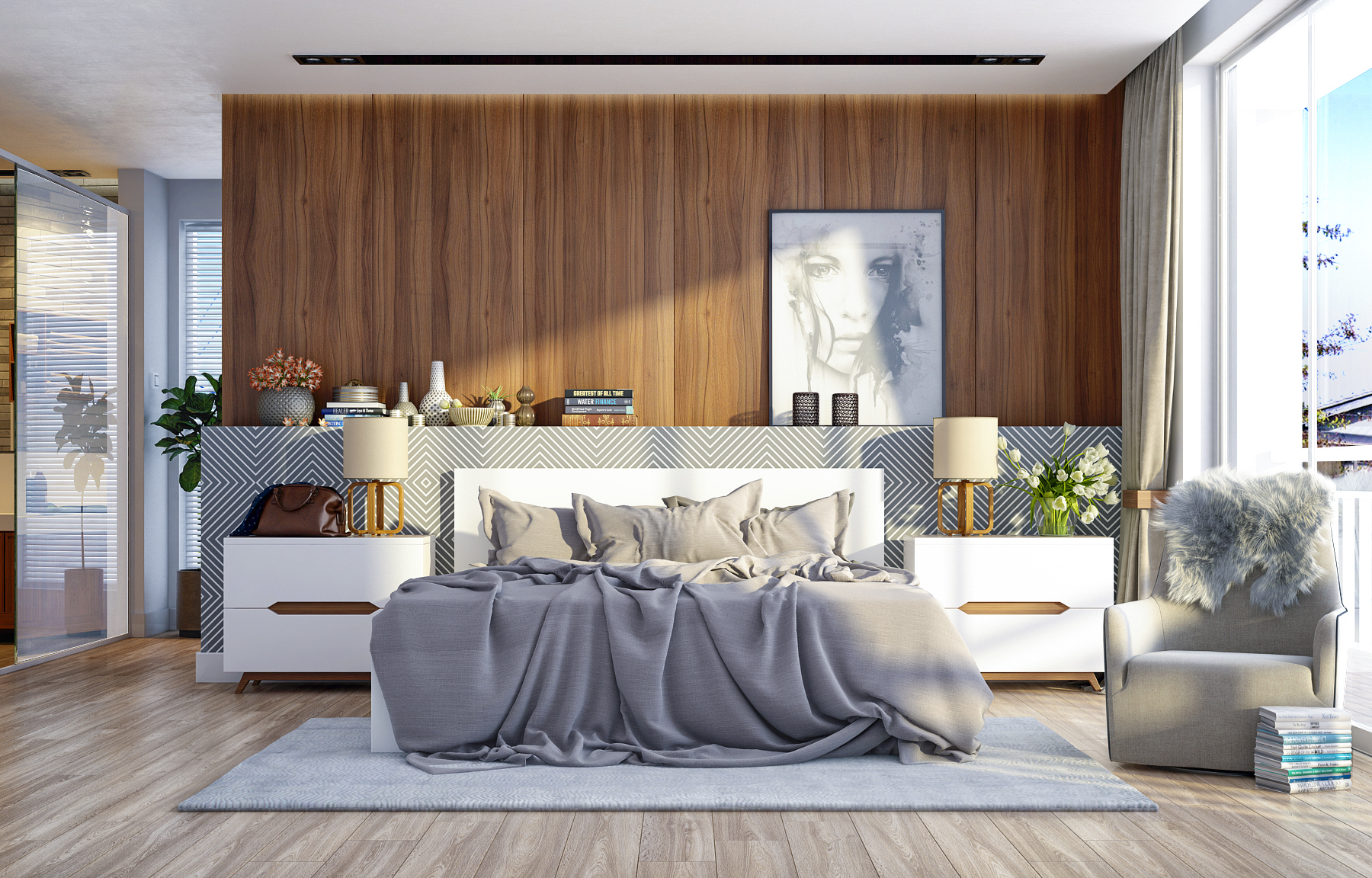 wood walls in the bedroom Design Inspiration – Wood Walls In The Bedroom attachment